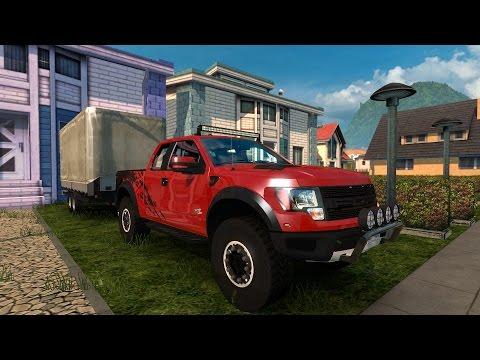 ETS2 Ford F-150 Raptor Con remolque! Rutas Mortales y carreteras extremas Euro Truck Simulator 2