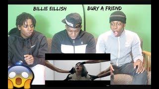Billie Eilish - bury a friend (official video) REACTION