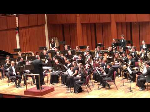 "Santa Monica High School Wind Ensemble Kennedy Center 4/16/17 ""Cartoon"" by Paul Hart"