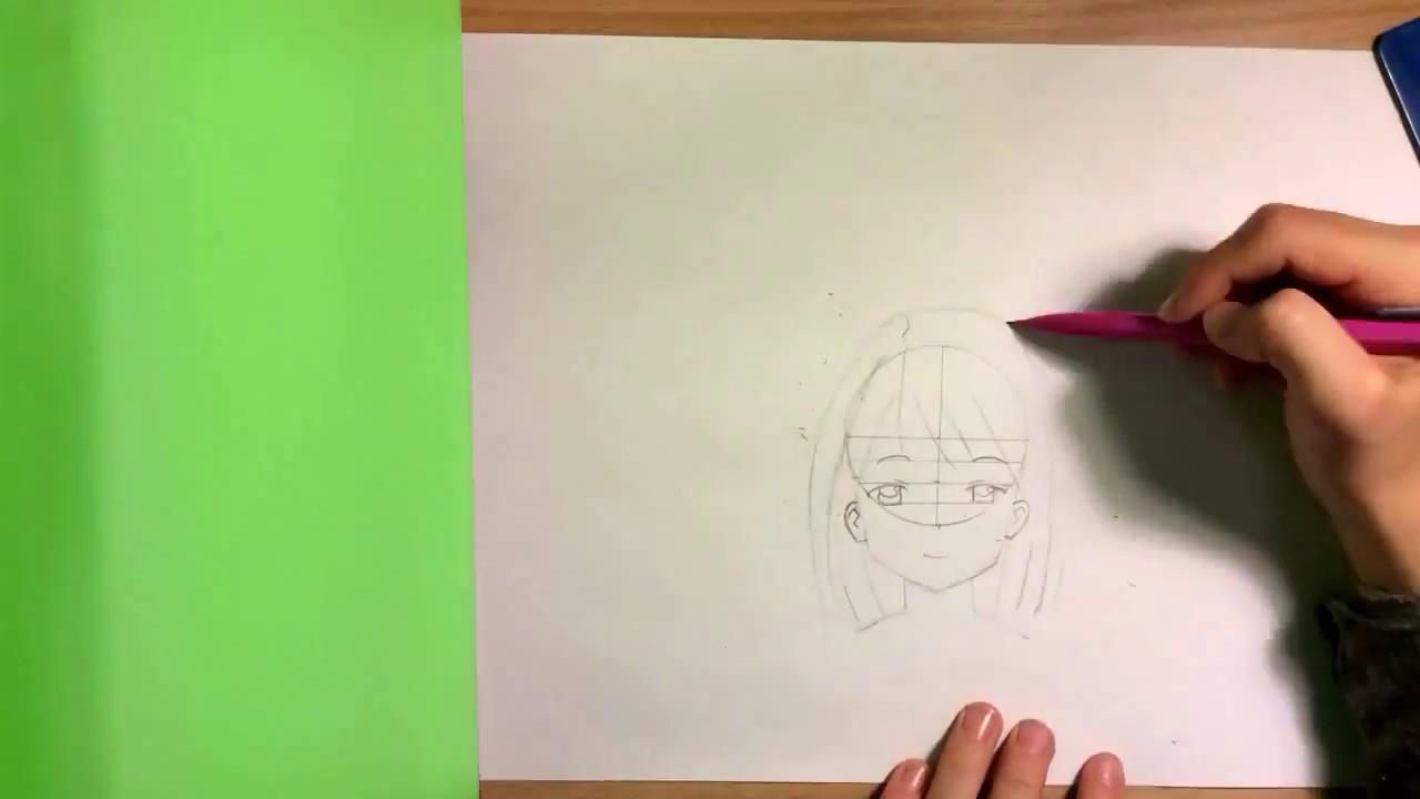 Dessin De Fille Manga Facile Youtube