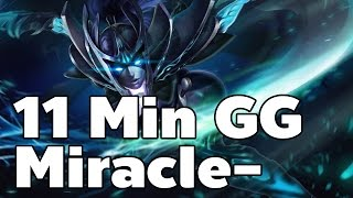 11 Min GG Phantom Assassin Miracle-