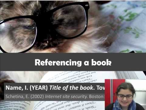 How To Cite And Reference In Harvard Style