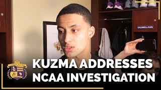 Lakers Rookie Kyle Kuzma Addresses NCAA Investigation