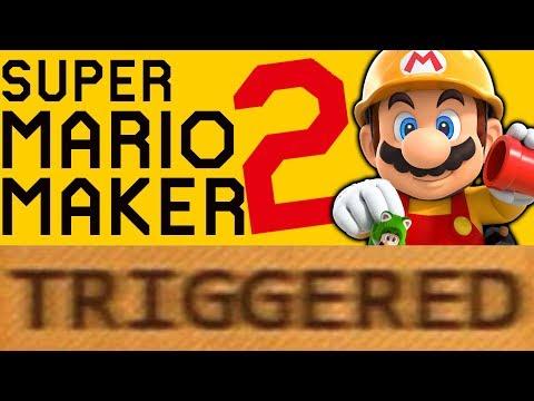How Super Mario Maker 2 TRIGGERS You!