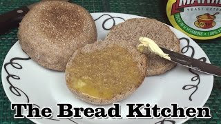 Wholewheat English Muffins Recipe In The Bread Kitchen