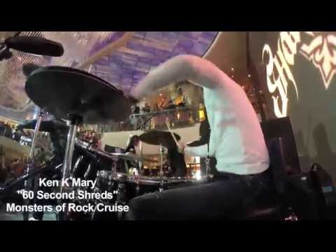 """Ken Mary - """"60 Second Shreds""""  - Monsters of Rock"""