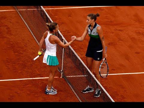2017 Roland Garros Semifinals | Simona Halep vs Karolina Pliskova | Highlights