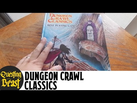 Dungeon Crawl Classics (DCC): Old-School D&D Book Review