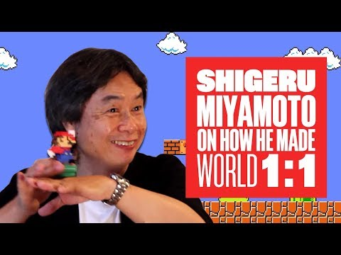 Miyamoto on World 1-1: How Nintendo made Mario's most iconic level