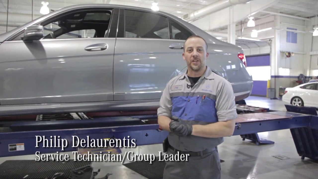 Mercedes benz of cary tech video check your alignment for Mercedes benz of cary