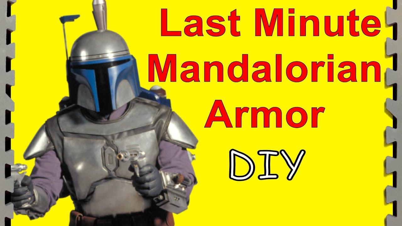 How to Make Mandalorian Armor Last Minute (DIY)