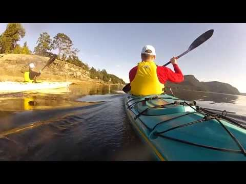 Kayaking Salt Spring Island, BC (Stuart Channel between Booth Bay and Southey Point)