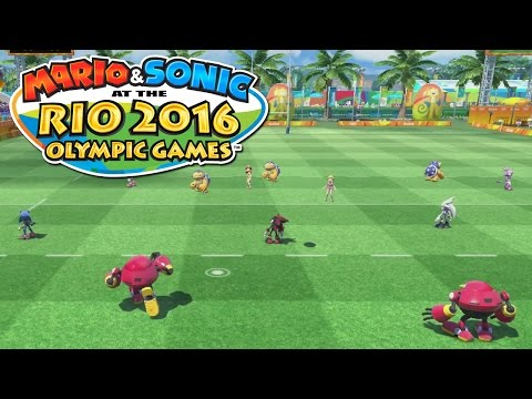 RUGBY SEVEN - Mario & Sonic at the RIO 2016 Olympics [Wii U Gameplay]