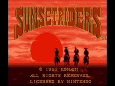 Sunset Riders Stage 1 Theme