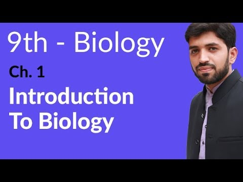 Introduction Chapter 1 Biology - Biology Chapter 1 Introduction to Biology - 9th Class