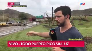 Puerto Rico destruido e incomunicado