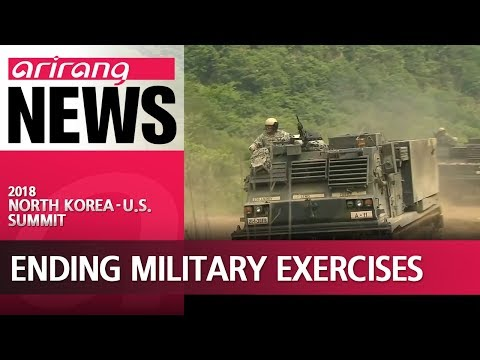 Trump announces to end S. Korea-US joint military exercises, sparks concerns