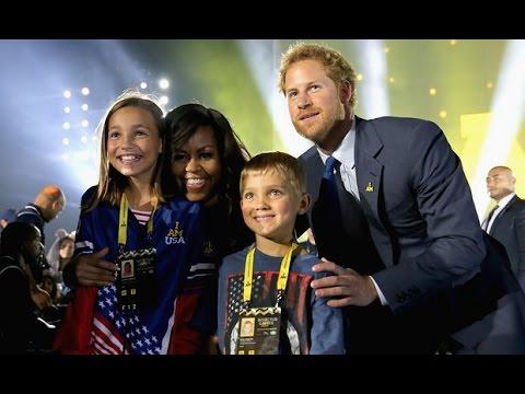 Invictus Games 2016 : UK's Prince Harry, Michelle Obama Kick Off Invictus Games