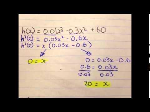 Calculus and Vectors CCT - Edwin Chen