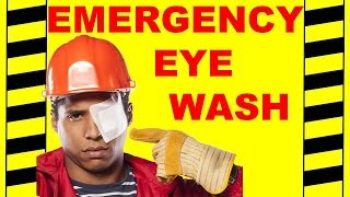 Emergency Eyewash - Safety Training Video - Protect Your Vision After Accidents