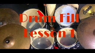 Latin Swing || Drum Fill Lesson 1