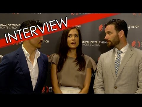 ITW Brian Tee  Torrey DeVitto  Colin Donnell Chicago Med  FTV16