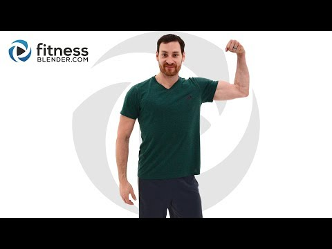 35 Minute Upper Body Strength Superset Workout