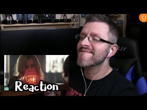 Marvel Studios Captain Marvel Special Look Reaction