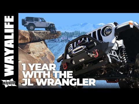 JEEP JL WRANGLER 1 YEAR REVIEW : Highlights of all our Modifications and Off Road on the Trail