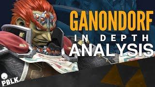 Super Smash Bros. Ultimate - Ganondorf In-Depth Analysis (Buffs, Nerfs, Frame-Data, Aesthetics)
