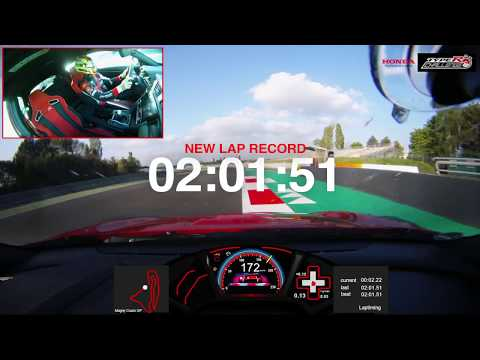 Honda Civic Type R achieves fastest lap record at Magny-Cour