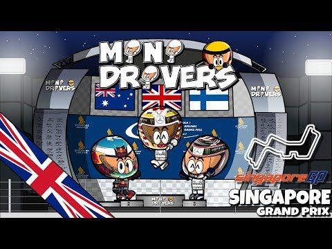 [EN] MiniDrivers - 9x14 - 2017 Singapore GP