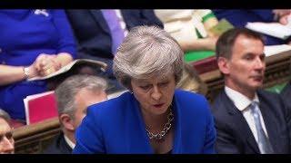 LIVE: Prime Minister's Questions follow Brexit deal rejection