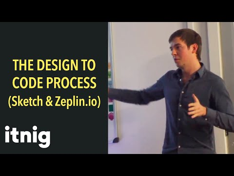 The Design to Code process with lead designer at Quipu Kamil Jura (With Sketch and Zeplin.io)