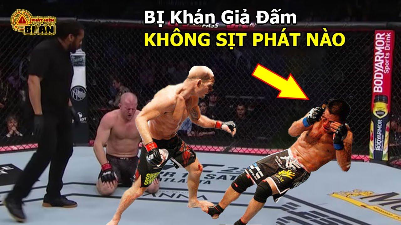 💥 Đáng Đời Võ Sĩ MMA Kiêu Ngạo Bị Khán Giả Đấm knock-out Ngay Trên Võ Đài