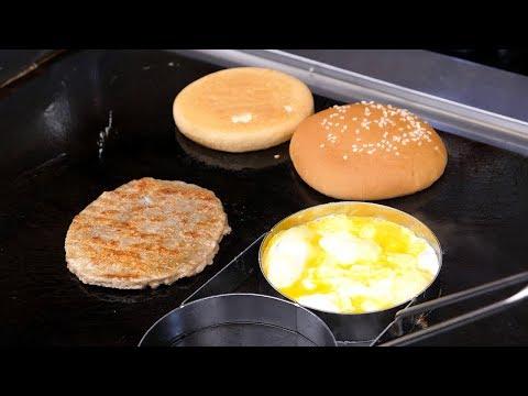 Double Cheeseburger - Korean Street Food