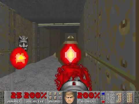 Doom 2 - 100% Secrets Speedrun on Nightmare! in 76:50 by PerOxyd