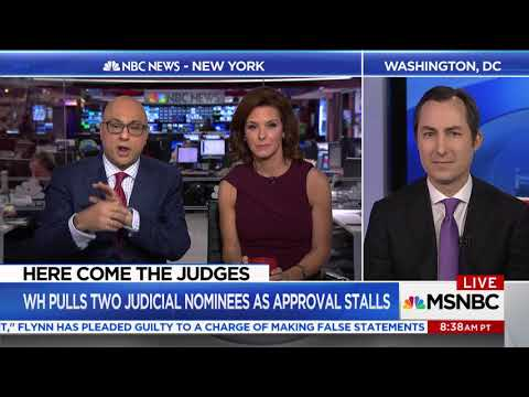 "BREAKING NEWS:""Why can't Trump's judicial nominee answer basic legal questions?"""