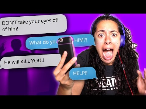 Text messages of my STALKER! (Hooked) | Mystery Gaming