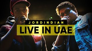 Jordindian Live In UAE I Behind The Scenes I Quarantine Content