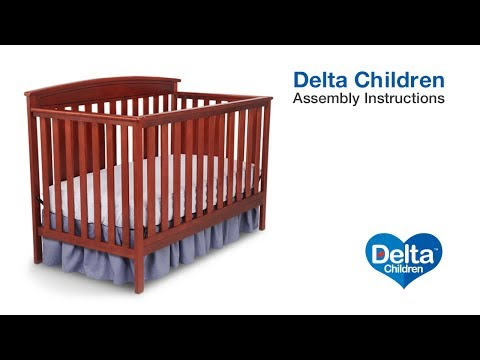 Delta Children Gateway 4-in-1 Crib Assembly Video