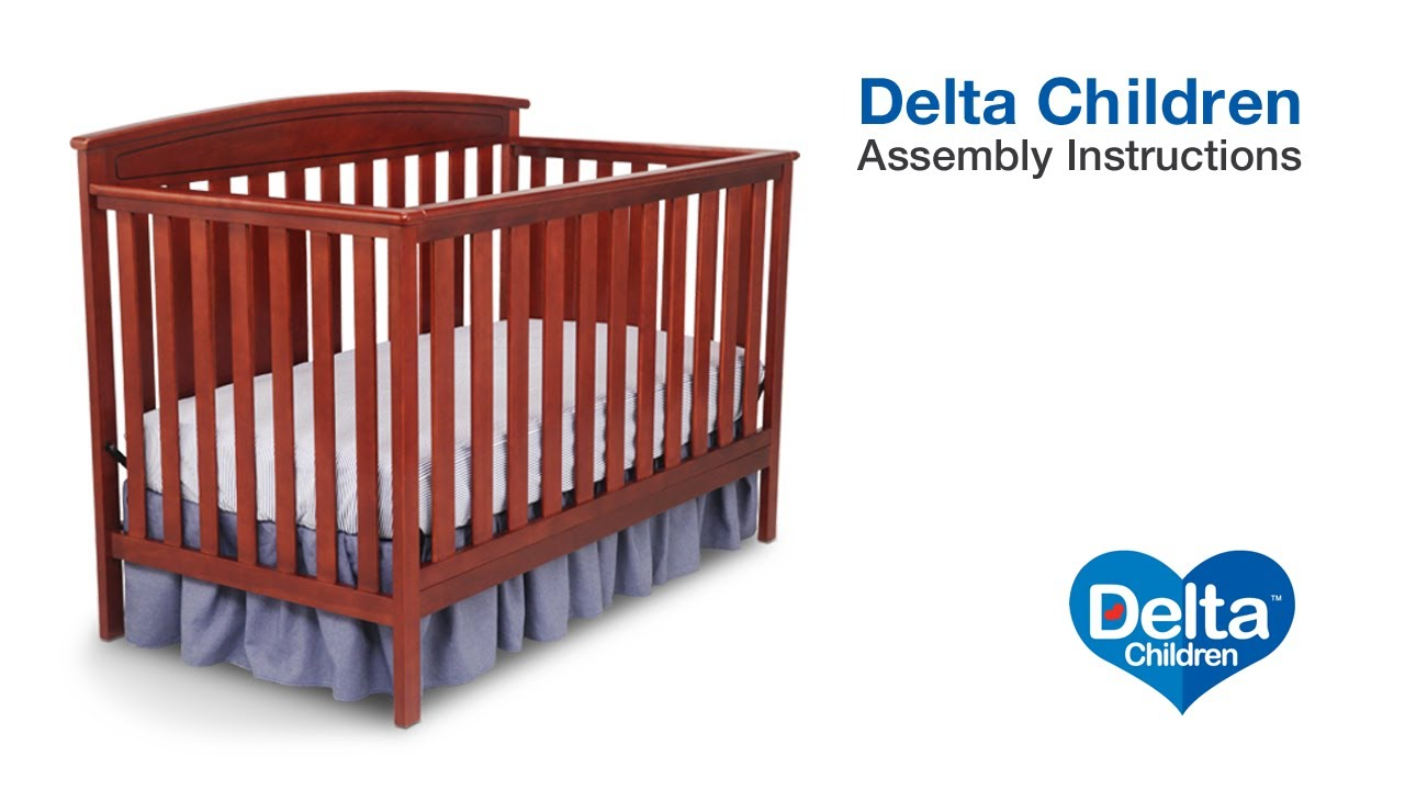 delta children gateway 4 in 1 crib assembly video youtube rh youtube com Jardine Enterprises Toddler Beds Jardine Enterprises Toddler Beds