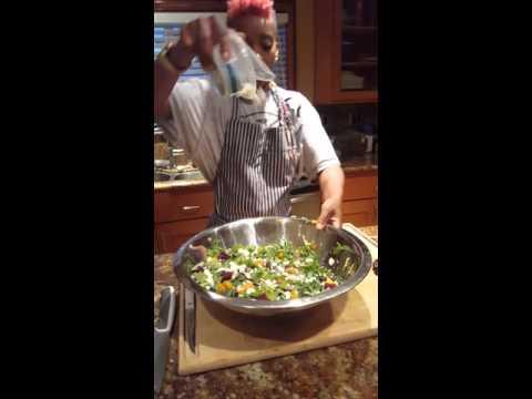 Beet Butternut Squash Salad