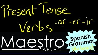 present tense how to conjugate form ar er ir verbs in the present indicative