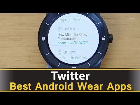 Twitter For Android Wear - Best Android Wear Apps Series