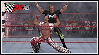 WWE 2K16 - D-Generation X Entrance, Tag Team Finisher & Winning Animation! (DX In Your House Arena)