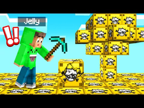 MINECRAFT But The WORLD Is CRAINER LUCKY BLOCKS!