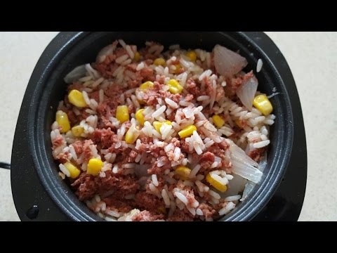 Corned Beef & Rice Jamaican Style Cook's Essentials Digital Perfect Cooker
