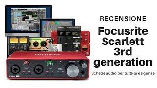 Focusrite Scarlett 2i2 3rd generation Ita Recensione