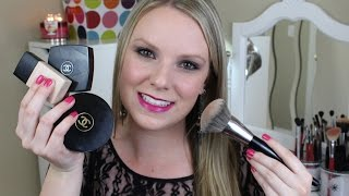 Full Face Makeup Tutorial - Chanel Products